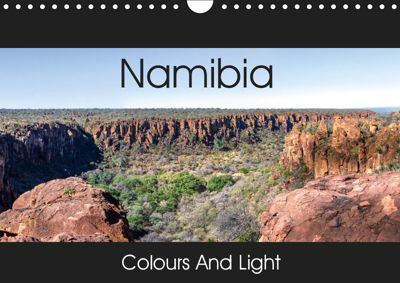 Namibia - Colours and Light (Wall Calendar 2019 DIN A4 Landscape), Thomas Gerber
