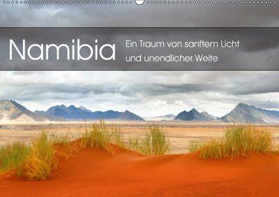Namibia: Ein Traum von sanftem Licht und unendlicher Weite (Wandkalender 2019 DIN A2 quer), Simon Pichler