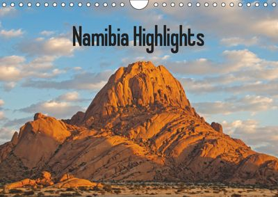 Namibia Highlights / UK-Version (Wall Calendar 2019 DIN A4 Landscape), Frauke Scholz