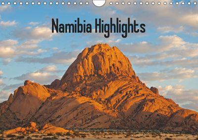 Namibia Highlights / UK-Version (Wall Calendar 2019 DIN A4 Landscape), Frauke Scholz