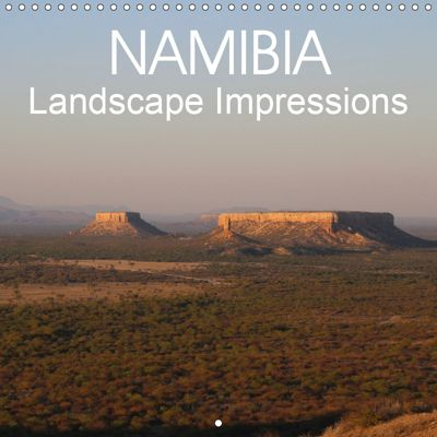 Namibia Landscape Impressions (Wall Calendar 2019 300 × 300 mm Square), Thomas Morper
