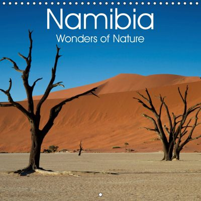 Namibia - Wonders of Nature (Wall Calendar 2019 300 × 300 mm Square), Juergen Schonnop