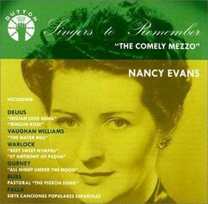 Nancy Evans, N. Evans