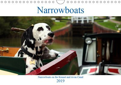 Narrowboats (Wall Calendar 2019 DIN A4 Landscape), Terry Hewlett