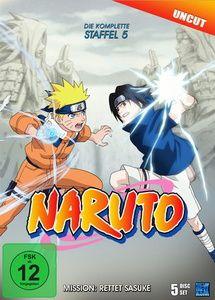 Naruto - Die komplette Staffel 5, Masashi Kishimoto