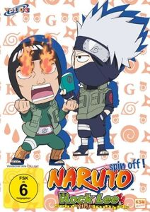 Naruto Spin Off! Rock Lee & seine Ninja Kumpels Vol. 3 DVD-Box, N, A