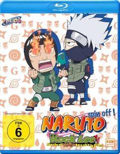 Naruto Spin Off! Rock Lee & seine Ninja Kumpels Vol. 3 Bluray Box, N, A