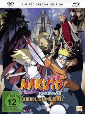 Naruto - The Movie 2: Die Legende des Steins von Gelel Mediabook, N, A