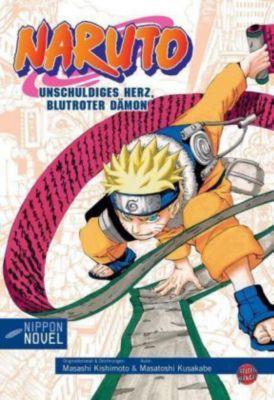 Naruto - Unschuldiges Herz, Blutroter Dämon, Masatoshi Kusakabe, Masashi Kishimoto