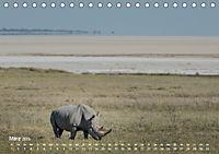 Nashörner - Afrikas seltene Dickhäuter (Tischkalender 2019 DIN A5 quer) - Produktdetailbild 3