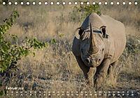 Nashörner - Afrikas seltene Dickhäuter (Tischkalender 2019 DIN A5 quer) - Produktdetailbild 2