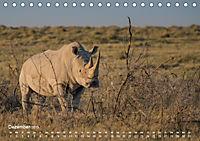 Nashörner - Afrikas seltene Dickhäuter (Tischkalender 2019 DIN A5 quer) - Produktdetailbild 12