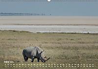 Nashörner - Afrikas seltene Dickhäuter (Wandkalender 2019 DIN A2 quer) - Produktdetailbild 3