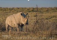 Nashörner - Afrikas seltene Dickhäuter (Wandkalender 2019 DIN A2 quer) - Produktdetailbild 12