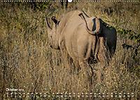 Nashörner - Afrikas seltene Dickhäuter (Wandkalender 2019 DIN A2 quer) - Produktdetailbild 10
