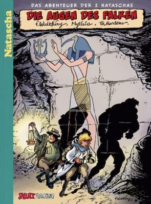 Natascha - Die Augen des Falken, Vorzugsausgabe, Mythic, Thierri Martens