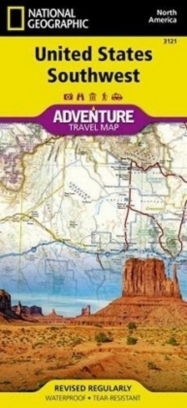 National Geographic Adventure Map United States, Southwest | Weltbild.ch