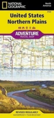 National Geographic Adventure Map United States, Northern Plains