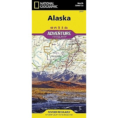 National Geographic Adventure Map United States, Alaska Buch
