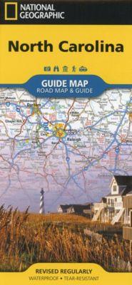 National Geographic GuideMap North Carolina, Geographic National