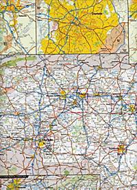 National Geographic GuideMap North Carolina - Produktdetailbild 1