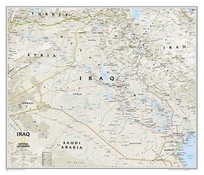 National Geographic Map Iraq Classic Buch portofrei - Weltbild.at