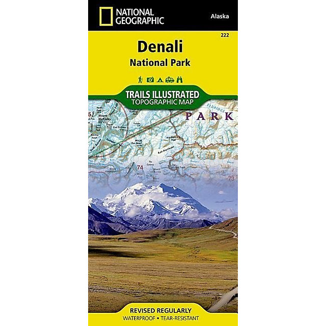 National Geographic Trails Illustrated Map Denali National ...
