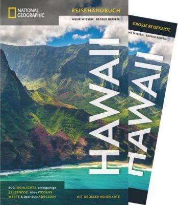 NATIONAL GEOGRAPHIC Traveler Reiseführer Hawaii mit Maxi-Faltkarte - Rita Ariyoshi |