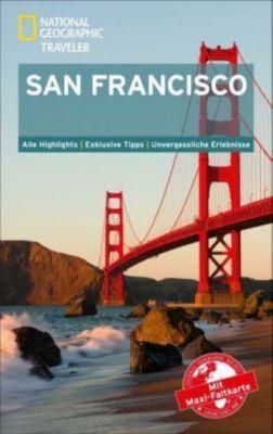 National Geographic Traveler San Francisco mit Maxi-Faltkarte, Jerry Camarillo Dunn