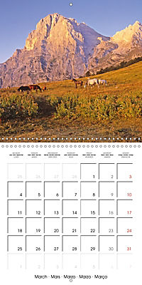 National Parks - Natural wonders of the worldder Natur (Wall Calendar 2019 300 × 300 mm Square) - Produktdetailbild 3