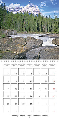 National Parks - Natural wonders of the worldder Natur (Wall Calendar 2019 300 × 300 mm Square) - Produktdetailbild 1