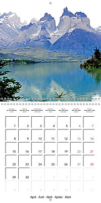 National Parks - Natural wonders of the worldder Natur (Wall Calendar 2019 300 × 300 mm Square) - Produktdetailbild 4