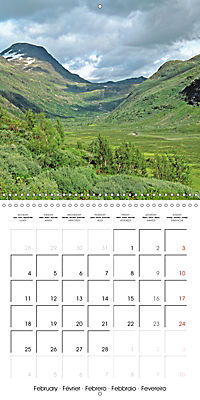National Parks - Natural wonders of the worldder Natur (Wall Calendar 2019 300 × 300 mm Square) - Produktdetailbild 2