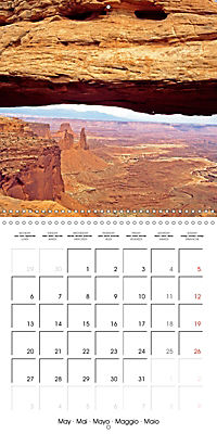 National Parks - Natural wonders of the worldder Natur (Wall Calendar 2019 300 × 300 mm Square) - Produktdetailbild 5
