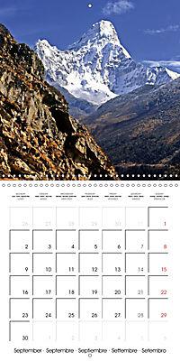 National Parks - Natural wonders of the worldder Natur (Wall Calendar 2019 300 × 300 mm Square) - Produktdetailbild 9