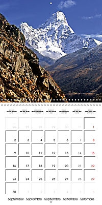 National Parks - Natural wonders of the worldder Natur (Wall Calendar 2019 300 × 300 mm Square) - Produktdetailbild 9