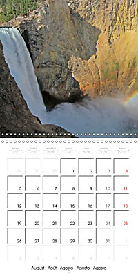 National Parks - Natural wonders of the worldder Natur (Wall Calendar 2019 300 × 300 mm Square) - Produktdetailbild 8