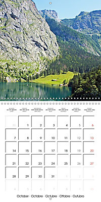 National Parks - Natural wonders of the worldder Natur (Wall Calendar 2019 300 × 300 mm Square) - Produktdetailbild 10