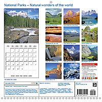 National Parks - Natural wonders of the worldder Natur (Wall Calendar 2019 300 × 300 mm Square) - Produktdetailbild 13