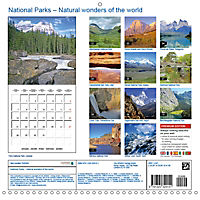National Parks - Natural wonders of the worldder Natur (Wall Calendar 2019 300 × 300 mm Square) - Produktdetailbild 13