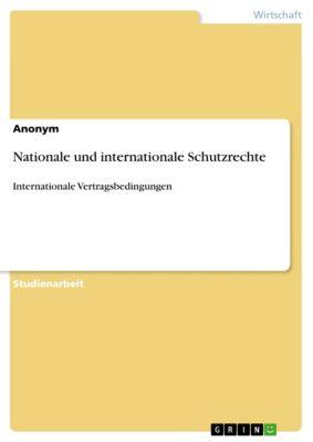 Nationale und internationale Schutzrechte, Anonym