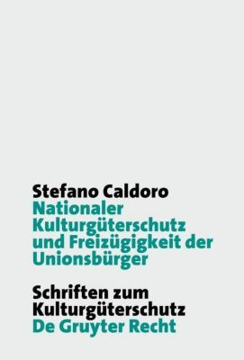 Nationaler Kulturgüterschutz und Freizügigkeit der Unionsbürger, Stefano Caldoro