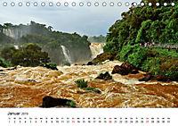 Nationalpark Iguaçu Brasilien (Tischkalender 2019 DIN A5 quer) - Produktdetailbild 1