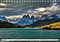Nationalpark Torres del Paine, eine Traumlandschaft (Tischkalender 2019 DIN A5 quer) - Produktdetailbild 2