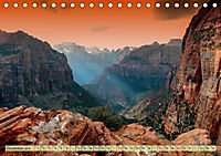 Nationalparks der USA - atemberaubend schön (Tischkalender 2019 DIN A5 quer) - Produktdetailbild 12