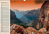 Nationalparks in den USA - wunderschön und einmalig (Wandkalender 2019 DIN A3 quer) - Produktdetailbild 9