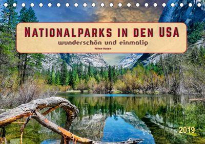 Nationalparks in den USA - wunderschön und einmalig (Tischkalender 2019 DIN A5 quer), Peter Roder