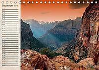 Nationalparks in den USA - wunderschön und einmalig (Tischkalender 2019 DIN A5 quer) - Produktdetailbild 9