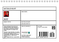 NATÜRLICH BUNT (Tischkalender 2019 DIN A5 quer) - Produktdetailbild 13