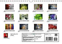 NATÜRLICH BUNT (Wandkalender 2019 DIN A4 quer) - Produktdetailbild 13
